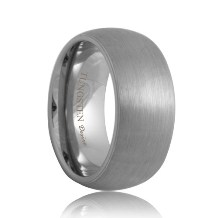 10mm Matte Domed Durable Tungsten Ring