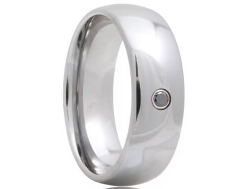 Why You Need a Tungsten Ring with a Black Diamond