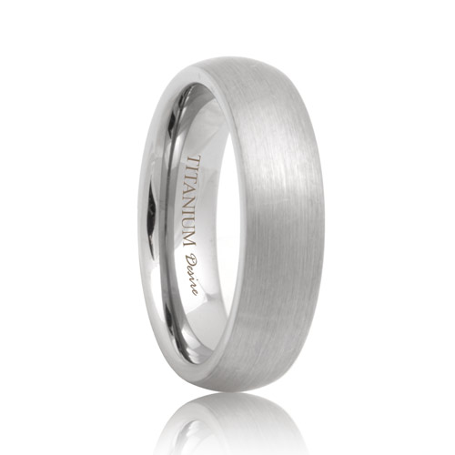 Womens Titanium Rings