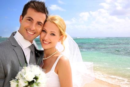Sandy Beach Wedding