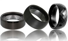 Ceramic Wedding Bands