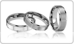 Raised Tungsten Rings
