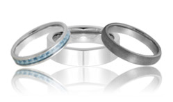 Womens Tungsten Rings